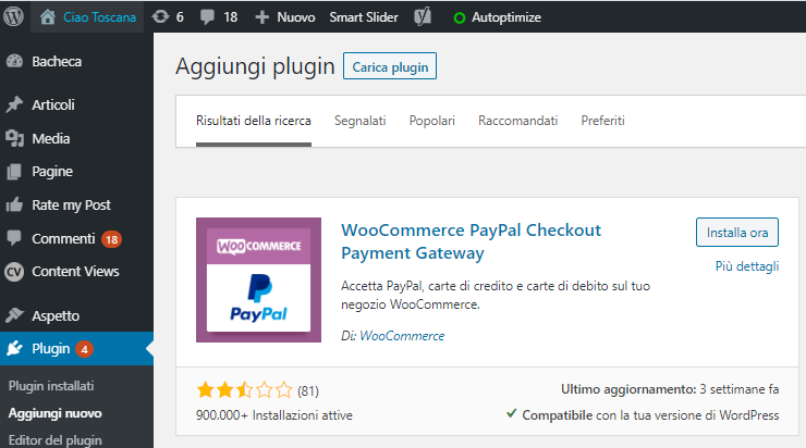 PayPal Plugin